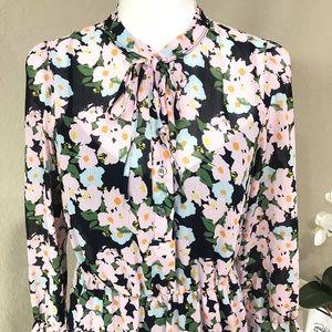 J.Crew Mercantile Long Sleeves Floral Dress
